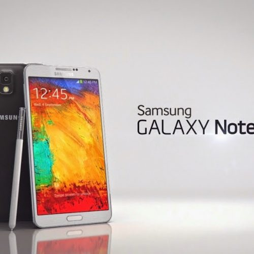 Galaxy NOTE 3 First look