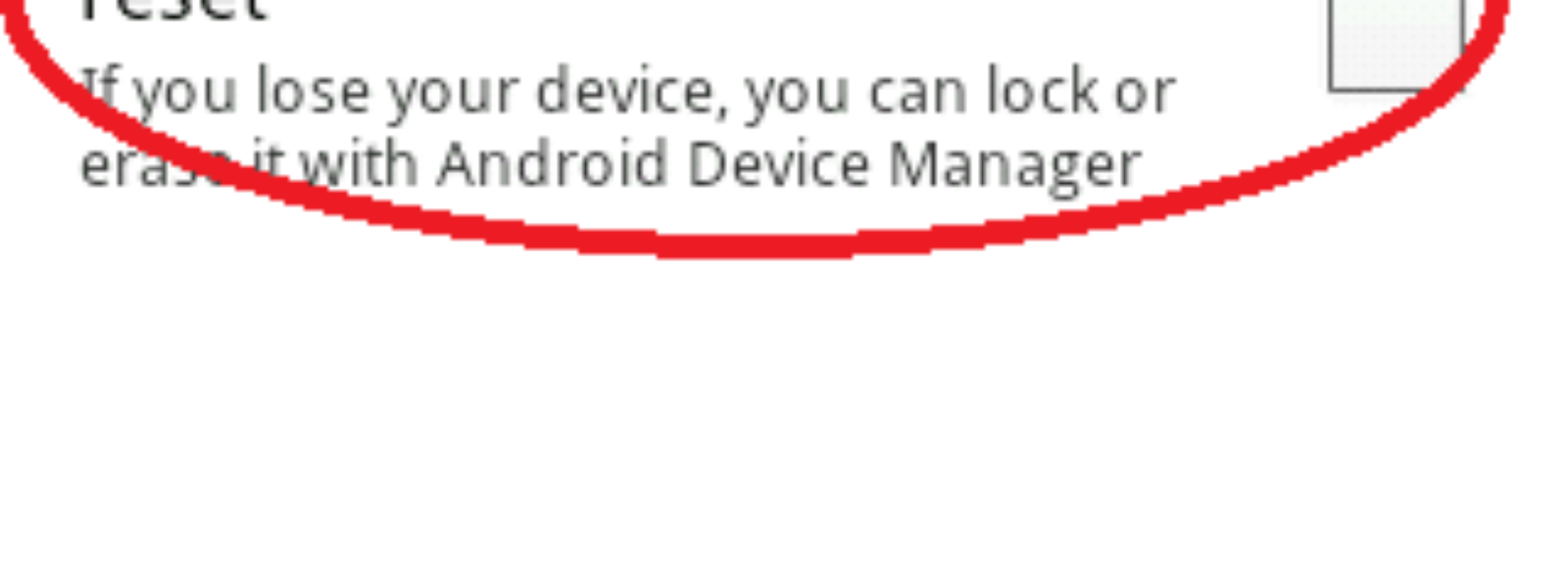 How to secure your android device and save your data with Android Device Manager when you lost your Android device