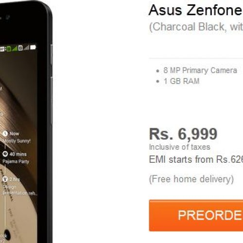 Asus ZenFone 4 A450CG: best budget Android phone available for preorder on flipkart