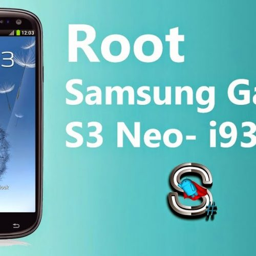Custom recovery and Rooting Galaxy S3 NEO GT i9300i