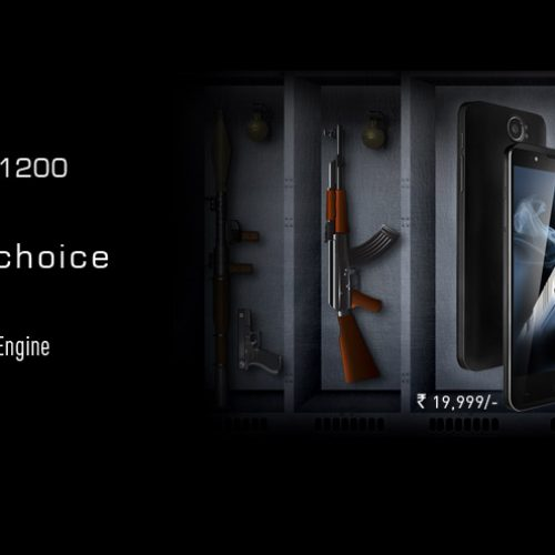 Xolo play 8x-1200 launched with the hardcore processing for smooth gaming experience