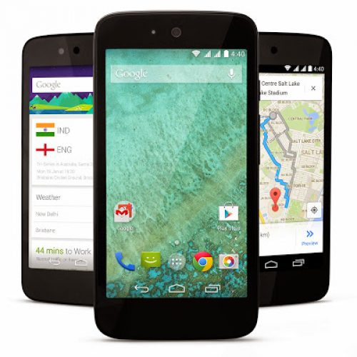 Project Android ONE first launched in INDIA