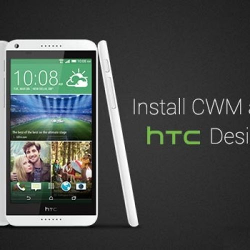 HTC Desire 816 Rooting guide and recovery installation