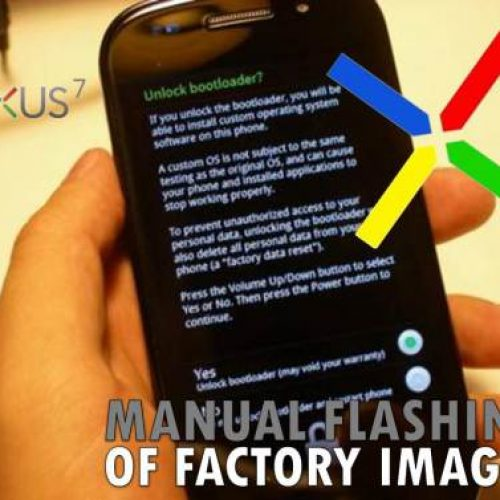 [STOCK ROM] How to Unroot, Return to stock or flash a factory image on any nexus device