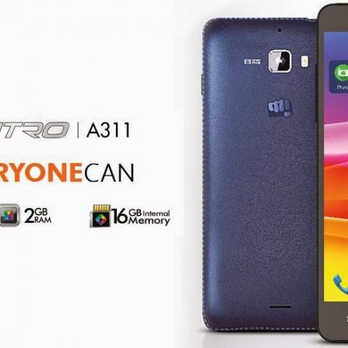 Micromax Canvas Nitro A311 octa-core launched at Rs.13000