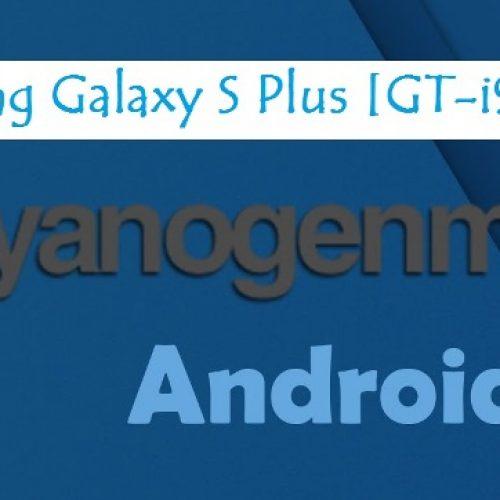 Galaxy S plus CyanogenMod 12.1 Lollipop 5.1 [GT-i9001]