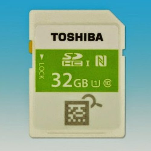 TOSHIBA launches World's first NFC enabled SD card