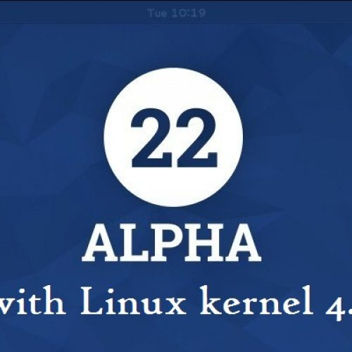 Fedora 22 is the first to include latest Linux kernel 4.0