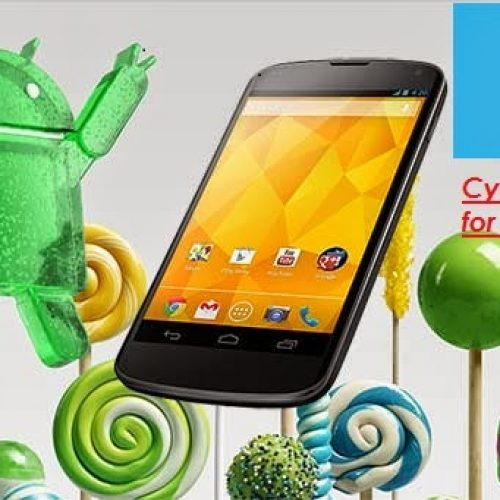 Official CyanogenMod 12.1 for Google nexus 4 Mako [UPDATED]