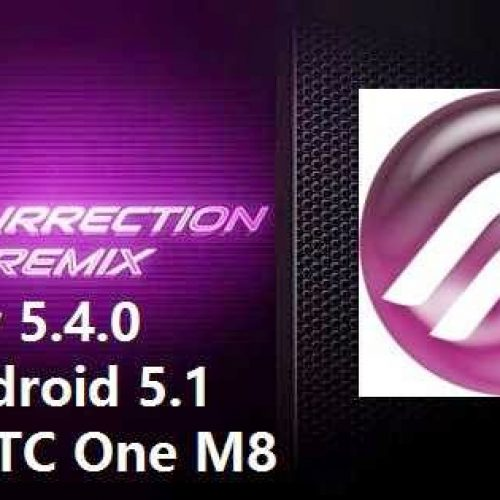 HTC One M8 Lollipop 5.1 Resurrection Remix ROM