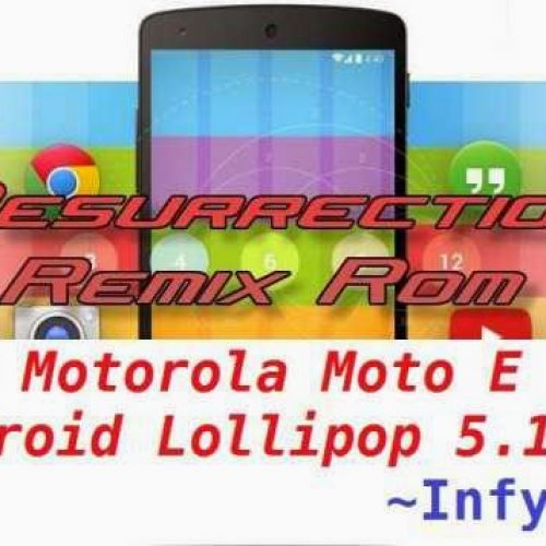 [ROM] [RR] Resurrection Remix ROM v5.4.0 for Motorola Moto E (Condor) Android Lollipop 5.1