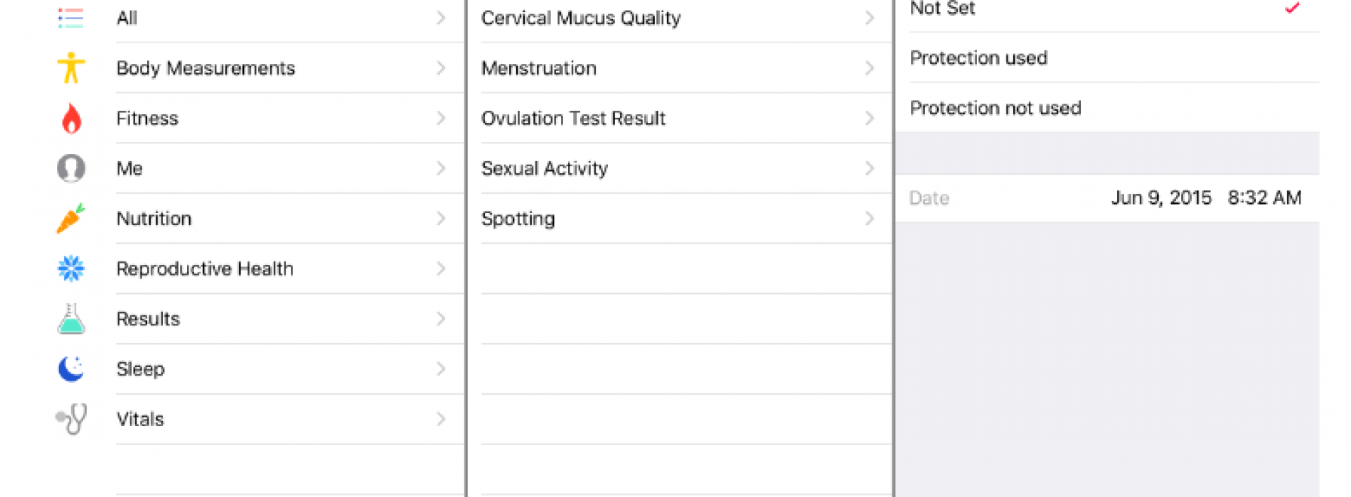 iPhone will have feature to track you sexual activity