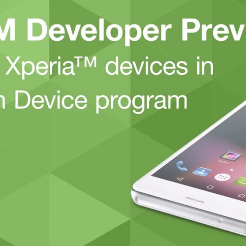 Developer Preview of Android M for Xperia devices
