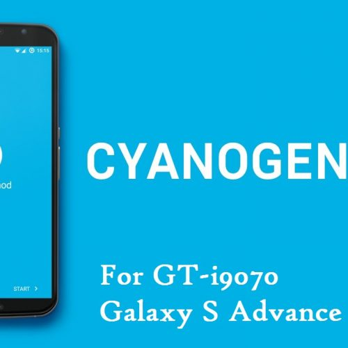 Galaxy S Advance lollipop ROM, CyanogenMod 12.1
