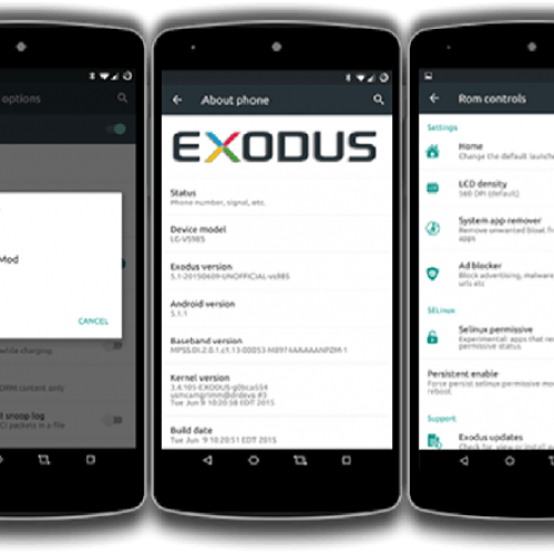 HTC One M8 Exodus ROM based on Lollipop 5.1