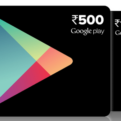 Google launches Google Play prepaid vouchers in India
