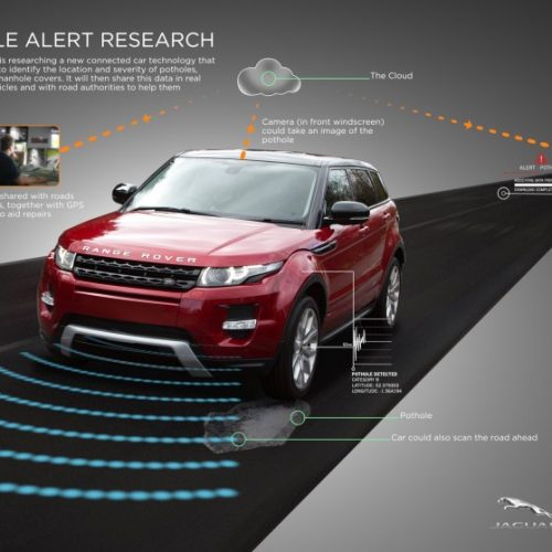 JLR Range Rover will automatically detect potholes
