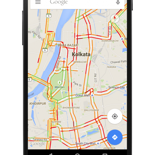 Stuck in traffic? Now beat traffic with Google Maps