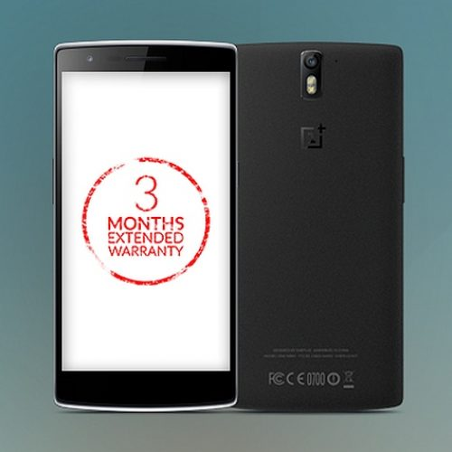 OnePlus One extended warranty for Indian users