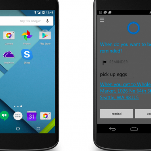 Cortana for Android and iOS is driving way from Windows 10