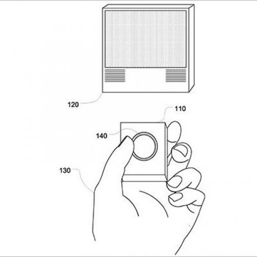 Patent reveals Apple TV remote control with fingerprint sensor