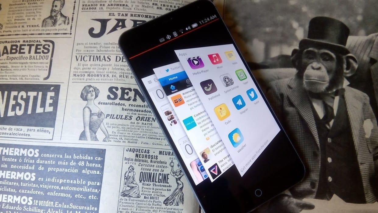Meizu MX 4 Ubuntu Phone