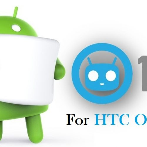 CyanogenMod 13 for HTC One M7