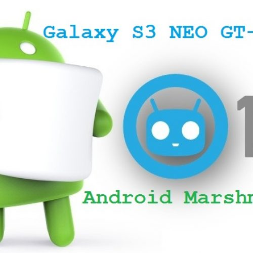 Galaxy S3 CM13 Marshmallow ROM for GT-i9300