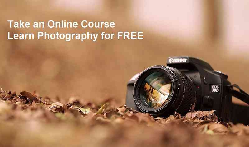 Learn Photography Online for FREE