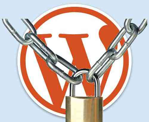 protect wordpress login from hack