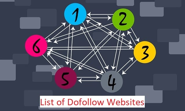dofollow backlinks list