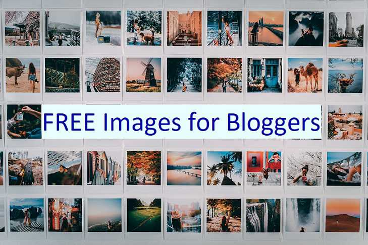 Free image download for Blogger's blog posts